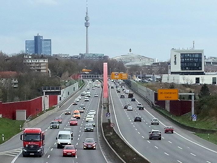 Bild 1: Stadteinfahrt West: So muss heute kein Stadteingang aussehen